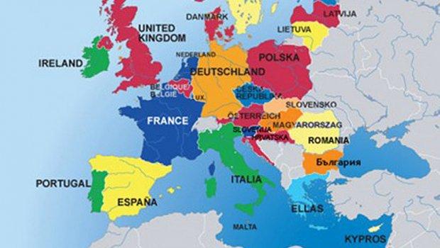 karta evrope srbija Na listi najuticajnijih evropskih država, Srbija je NAJVEĆE  karta evrope srbija