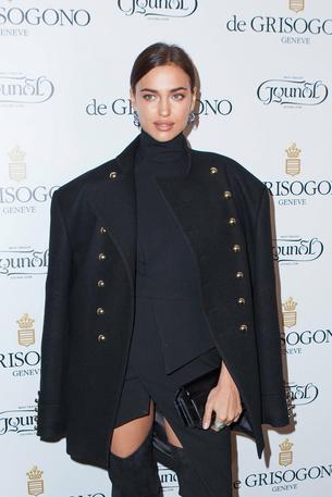 Best Look: Irina Shayk w sukience Alexandre Vauthier