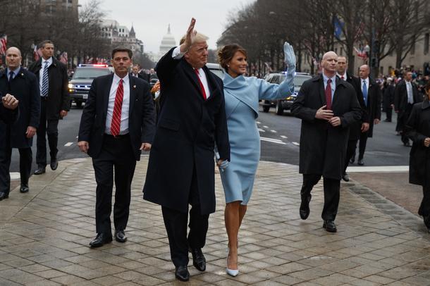 Pierwsza dama Melania Trump