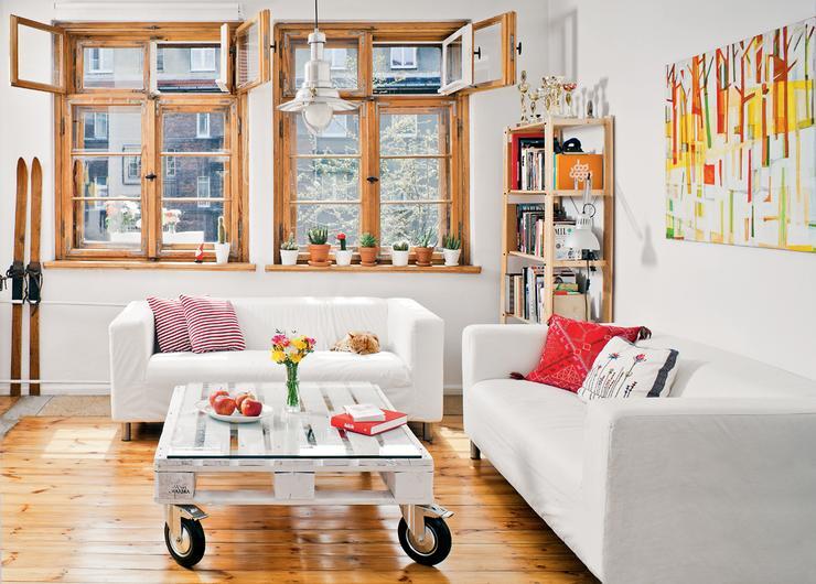 Mieszkanie Hani iJacka - nowoczesne retro