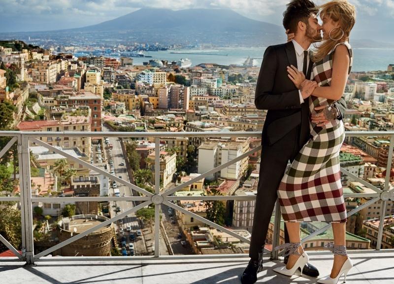 Gigi Hadid i Zayan Malik w romantycznej sesji