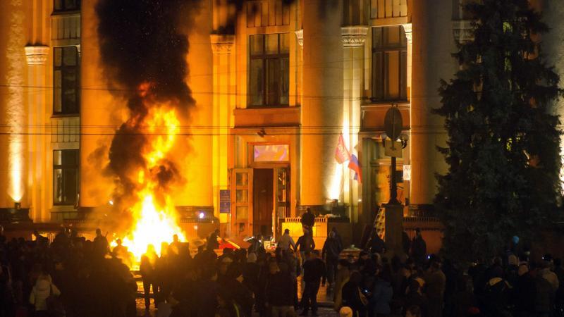 UKRAINE CRISIS (Crisis in Ukraine)