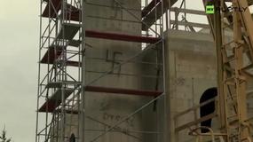 Niemcy: nazistowskie napisy na budynku meczetu