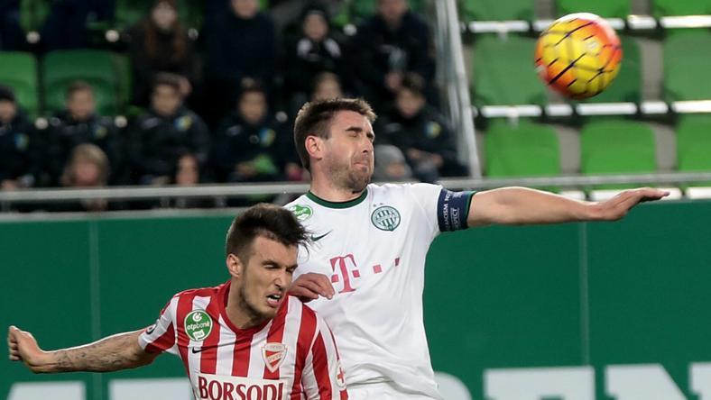 Böde Dániel először volt kezdő decemberi sérülése óta /Fotó: Gy. Balázs Béla
