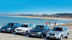 Volvo XC 60 kontra Mercedes GLK, Audi Q5 i BMW X3: świeży powiew w klasie SUV