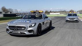 Mercedes-AMG GT S i C 63 S – nowe samochody   na torach F1