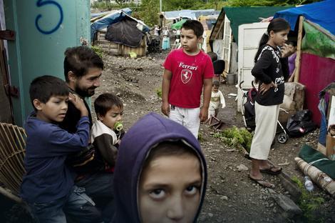 U Francuskoj trenutno postoji oko 600 ilegalnih romskih naseobina