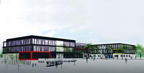 Centar za izučavanje matičnih ćelija imaće 11.500 kvadrata i nalaziće se na placu od 17 hektara, koji je poklonio grad Kragujevac