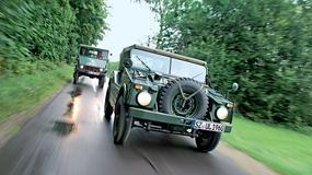 Rolnik kontra żołnierz - Unimog 2010 kontra Porsche 597 Jagdwagen