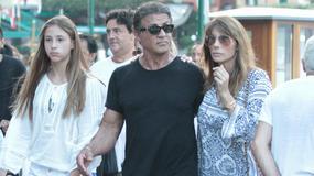 Sylvester Stallone spędza wakacje z rodziną we Francji