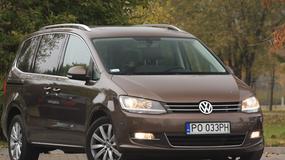 Sharan 2.0 TDI DSG Highline: VW przestał być sknerą