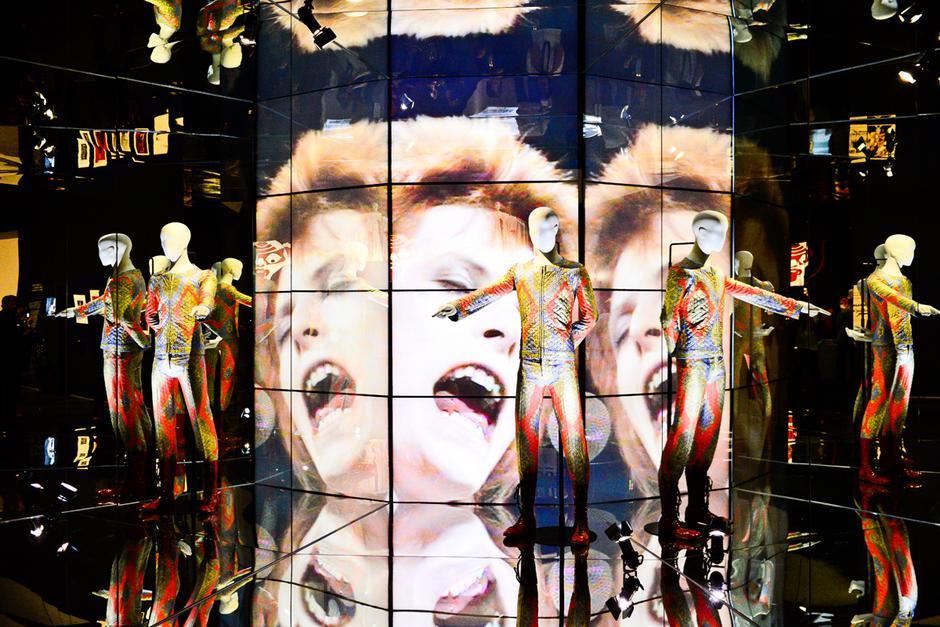 """Wystawa """"David Bowie is"""""""