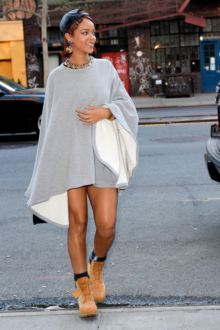Rihanna w Timberlandach