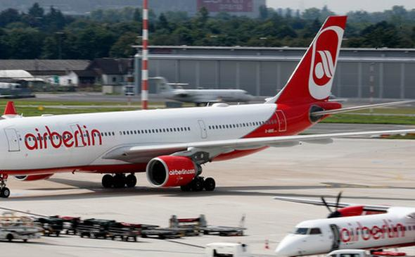 Upadek Air Berlin wynikiem upadku Amber Gold? Tak twierdzi polski europoseł