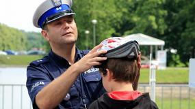 Policja uczy jeździć