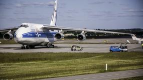 Jeden z największych samolotów na świecie wylądował na lotnisku im. Lecha Wałęsy