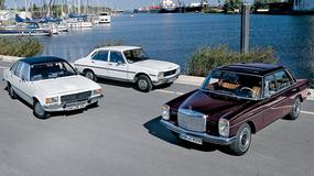 Peugeot 504D kontra Mercedes 220D i Opel Rekord 2100 - porównanie klasycznych limuzyn z dieslem