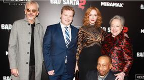 "Christina Hendricks, Billy Bob Thornton i Kathy Bates na premierze filmu ""Zły Mikołaj 2"""