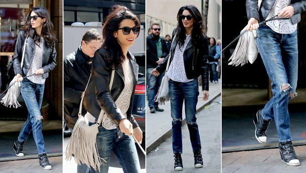 W stylu Amal Clooney