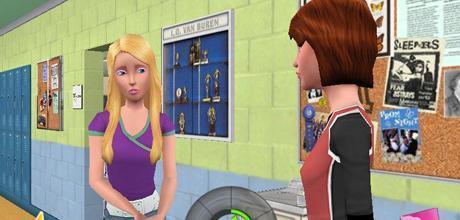 """Screen z gry """"Barbie Pamiętniki: Szkolna Tajemnica"""""""