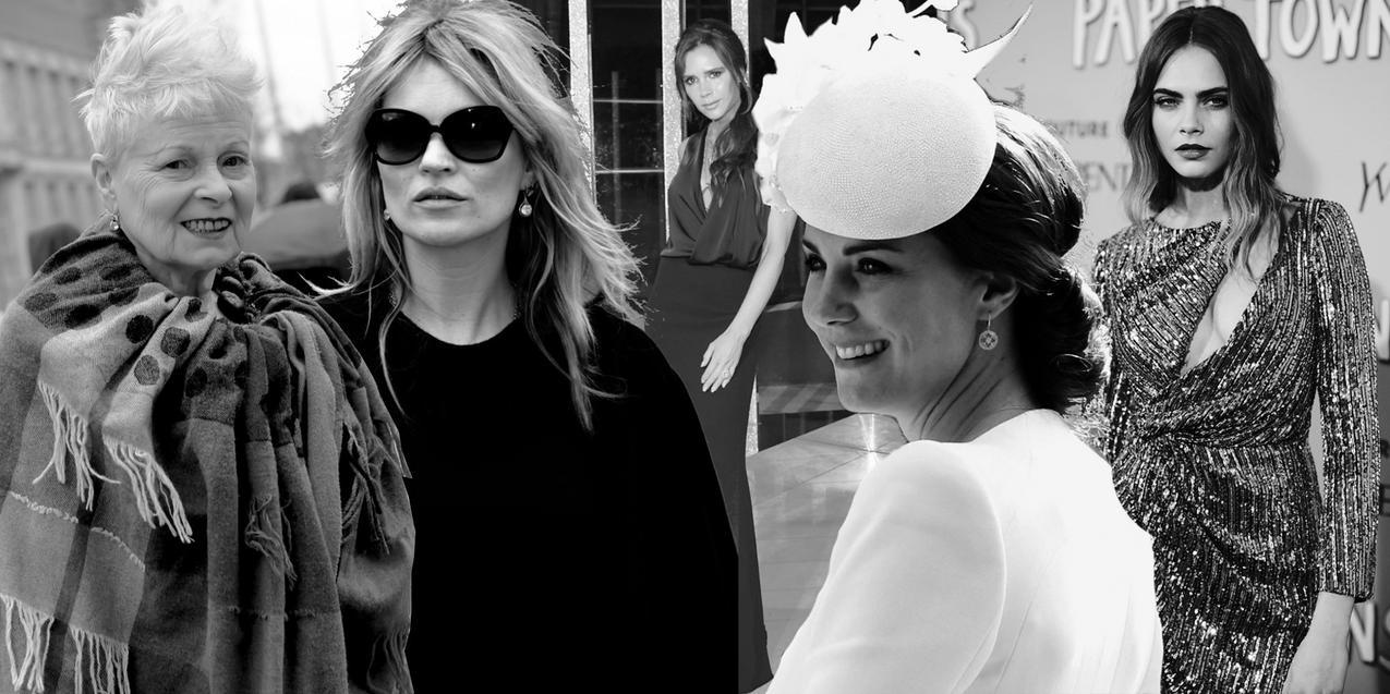 5 ikon brytyjskiej mody