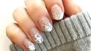 Trendy na Instagramie: Mroźny manicure