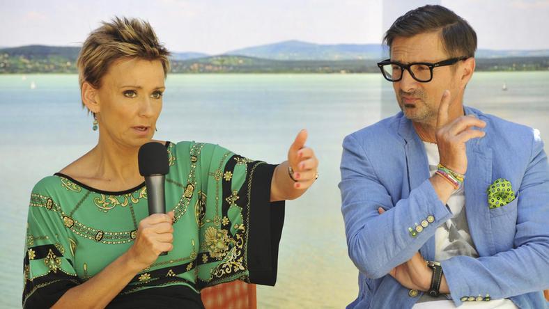 Csiszár és Jakupcsek vitte sikerre a Magyarország, szeretlek! című produkciót, ám a jövőben nem dolgoznak együtt/ Fotó: MTI Nagy Zoltán