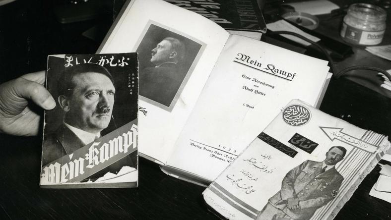 70 évig tilos volt újranyomni a náci ideológiai könyvet /Fotó: Northfoto