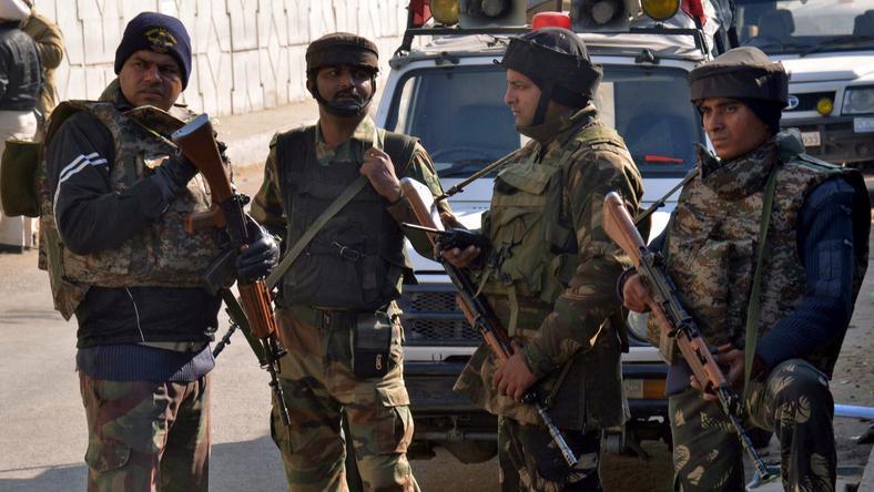 Fegyveresek egy csoportja hajtotta végre a támadást /Fotó: AFP