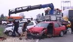 NESREĆA NA IBARSKOJ MAGISTRALI Sudarila se tri vozila, povređene tri osobe