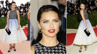 Best Look: Adriana Lima w sukni Giambattisty Valli