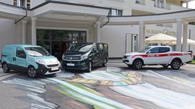 Fullback i Talento – nowe dostawcze modele Fiata, lifting Fiorino