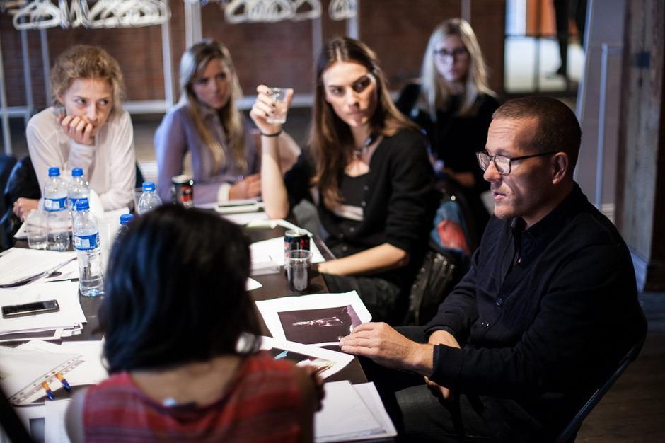 Scott Schuman prowadzi warsztaty Fashion Styling / fot. jakubwittchen.com