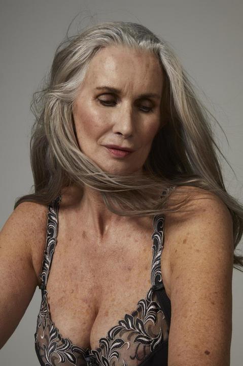 Nicola Griffin 59 évesen állt modellt /Fotó: Profimedia-Reddot