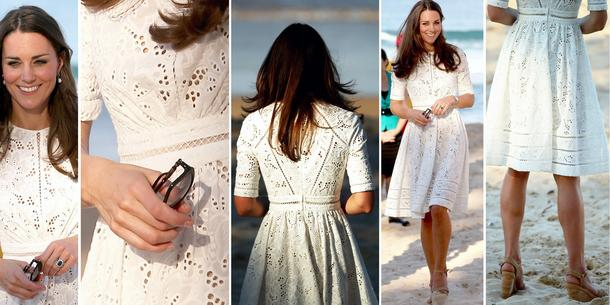 Best Look: Kate Middleton w sukience Zimmermann