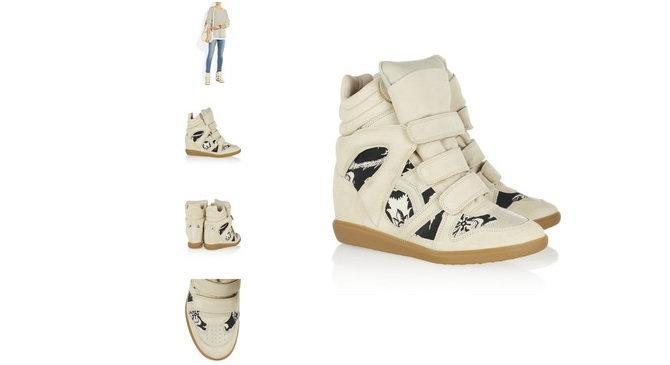 buty projektu Isabel Marant - bestseller na całym świecie