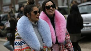Street style na Tygodniu Mody w Mediolanie