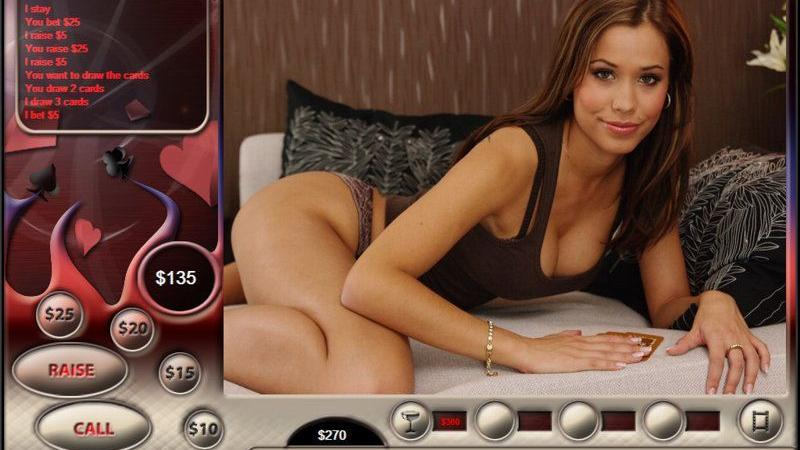 Viagra Strip Poker Flash Games