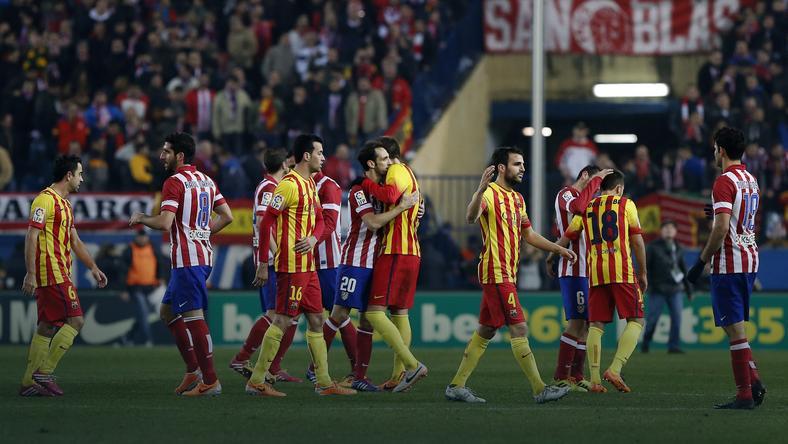 FC Barcelona - Atetico Madryt