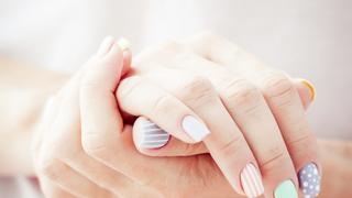Wakacyjny manicure