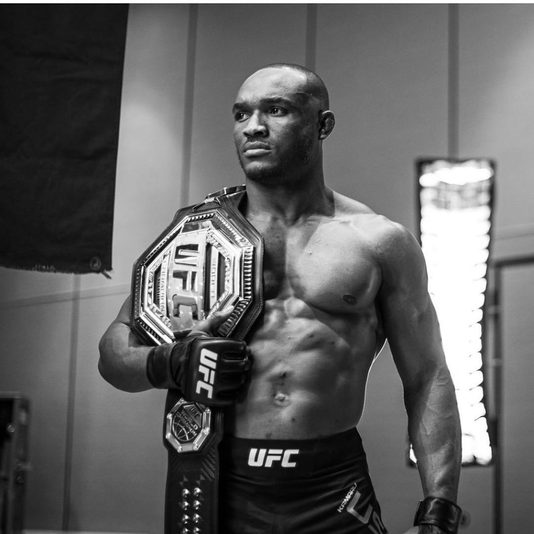 Kamaru Usman is dominating the Welterweight division (Instagram/Kamaru Usman)