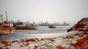 Cmentarzyska okrętów rozrzucone po całym świecie