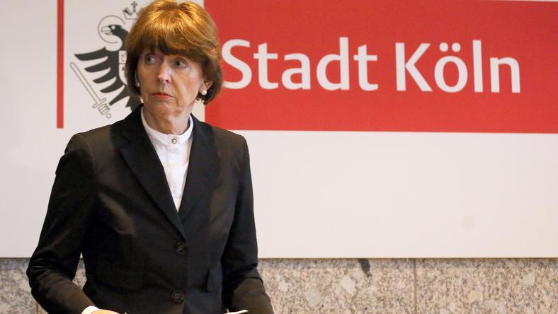 Henriette Reker  / Fotó :AFP