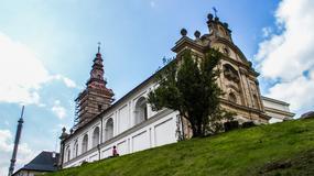Wieża klasztoru na Świętym Krzyżu w Górach Świętokrzyskich otwarta po remoncie - dostępny punkt widokowy