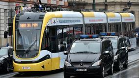 Papież przyjechał tramwajem na Błonia. Zobacz zdjęcia!