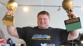 Zydrunas Savickas - jeden z najsilniejszych ludzi na ziemi.