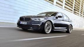 Nowe BMW serii 5 w 462-konnej wersji M550i