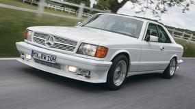 Mercedes 500 SEC Gullwing - tuning ekstremalny