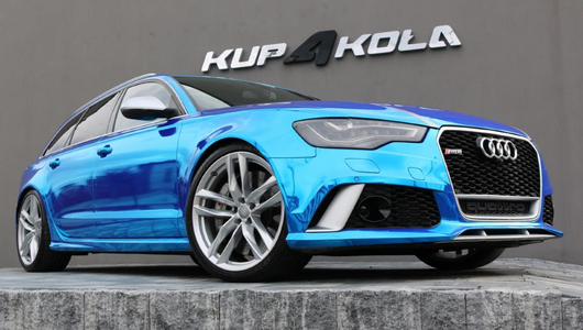 Ciekawostka z ogłoszenia – Audi RS 6 Avant Sportmile 1001 KM