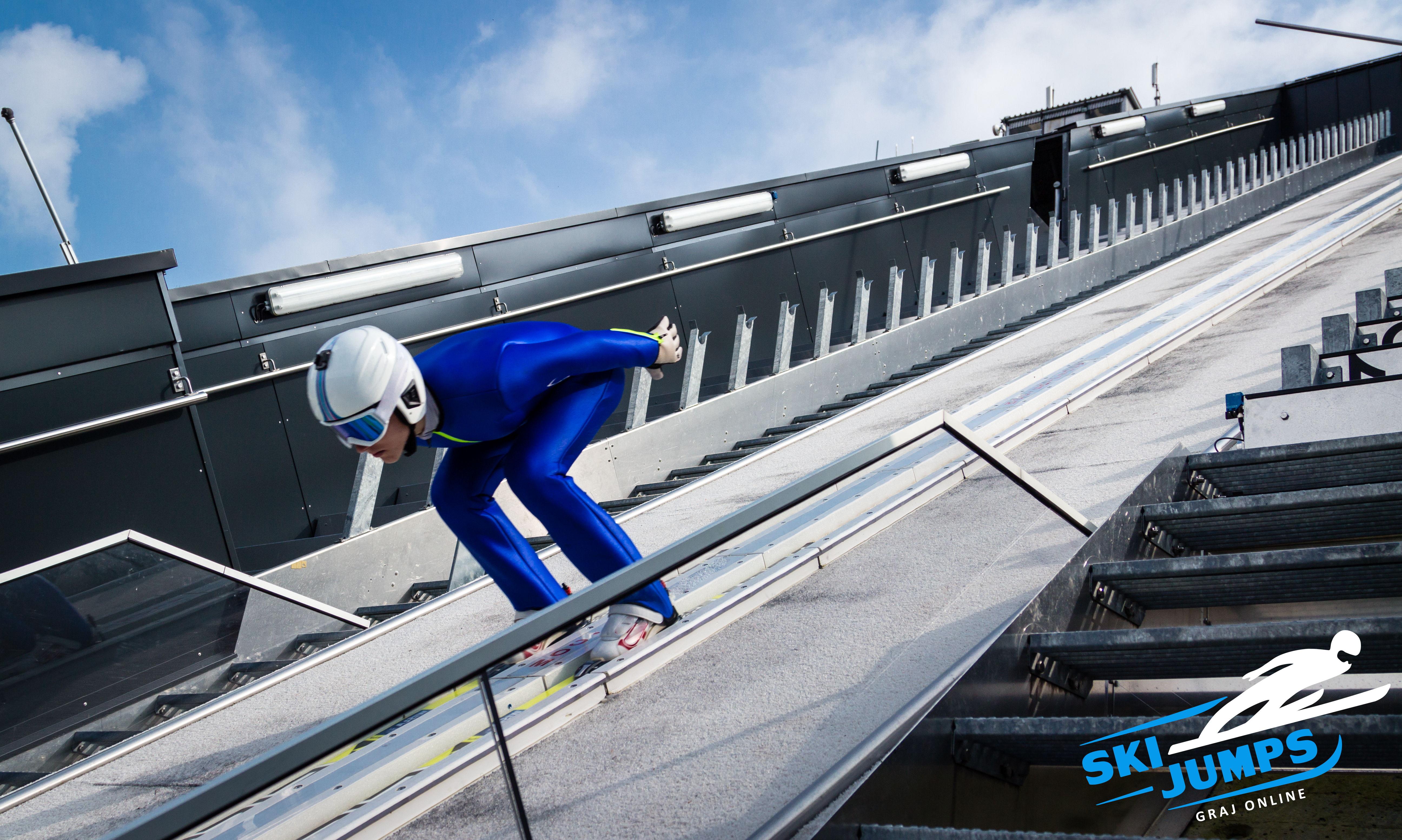 Gry dla fanów Deluxe Ski Jump